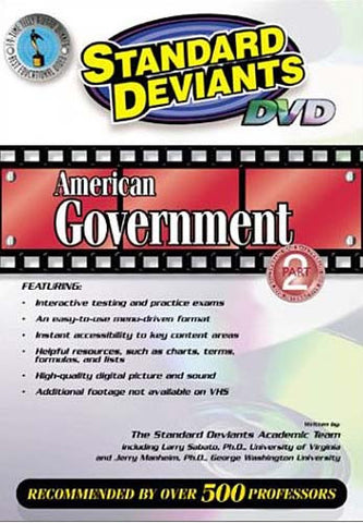 The Standard Deviants - American Government, Part 2 DVD Movie