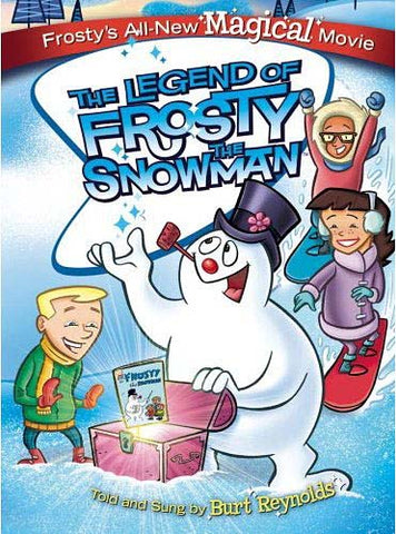 The Legend of Frosty the Snowman DVD Movie