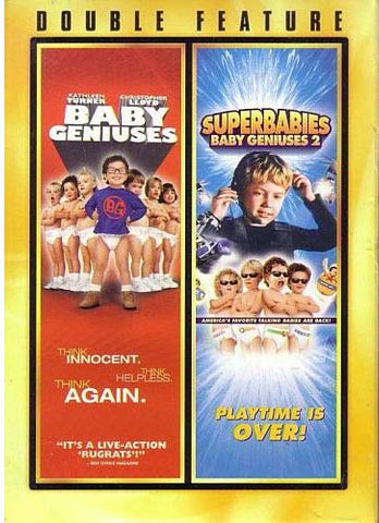 Baby Geniuses/Superbabies Baby Geniuses2 (Double Feature) DVD Movie