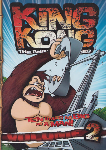 King Kong, Vol.2 (Animated Series) DVD Movie