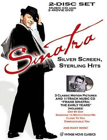 Sinatra: Silver Screen, Sterling Hits (Boxset) DVD Movie