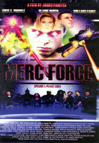Merc Force (Episode 1 : Planet Eden) DVD Movie