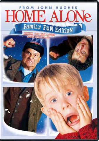 Home Alone (Family Fun Edition) (Bilingual) DVD Movie