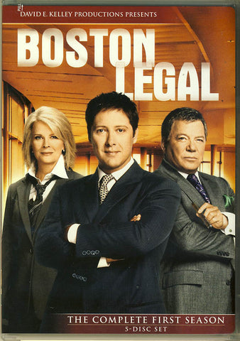 Boston Legal - Season One (Boxset) DVD Movie