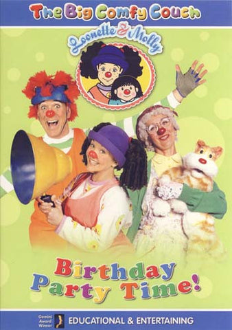 The Big Comfy Couch - Birthday Party Time DVD Movie