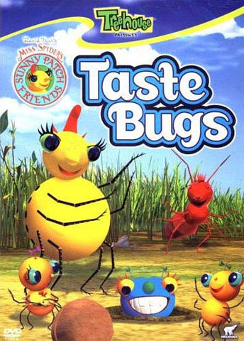 Miss Spider's Sunny Patch - Taste Bugs DVD Movie