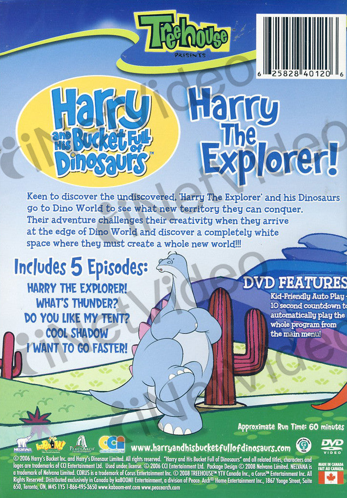 Harry And His Bucket Full Of Dinosaurs - Harry The Explorer! on ...