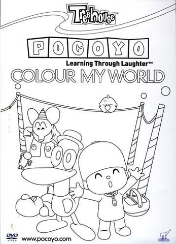 Pocoyo - Colour My World - Learning Through Laughter DVD Movie