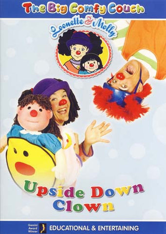 The Big Comfy Couch - Upside Down Clown - Vol.5 DVD Movie