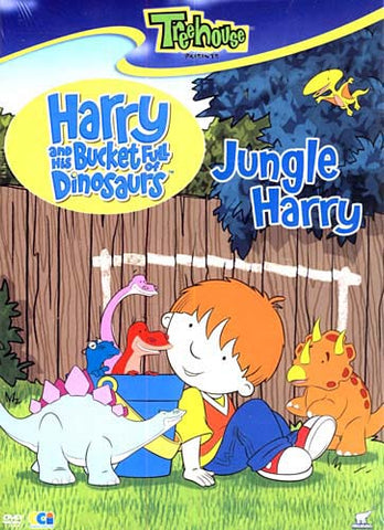 Harry and Bucket Full of Dinosaurs - Jungle Harry DVD Movie