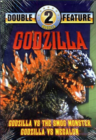 Godzilla vs The Smog Monster / Godzilla vs Megalon DVD Movie