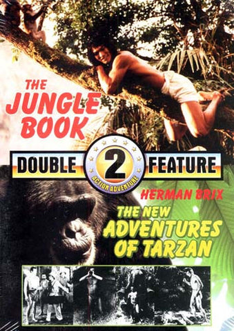 The Jungle Book / The New Adventure of Tarzan (Double Feature) DVD Movie