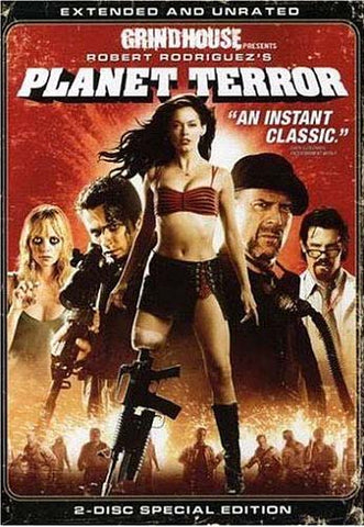 Grindhouse Presents : Planet Terror - Extended and Unrated (Two-Disc Special Edition) (Bilingual) DVD Movie