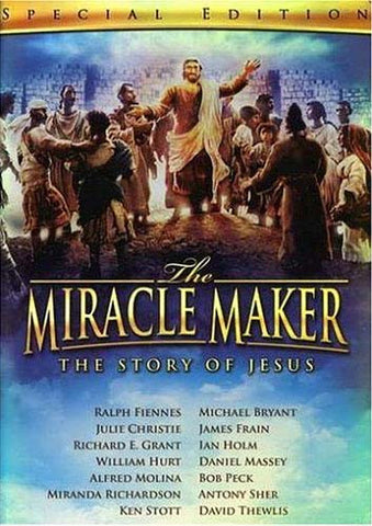 The Miracle Maker -The Story of Jesus (Special Edition) DVD Movie