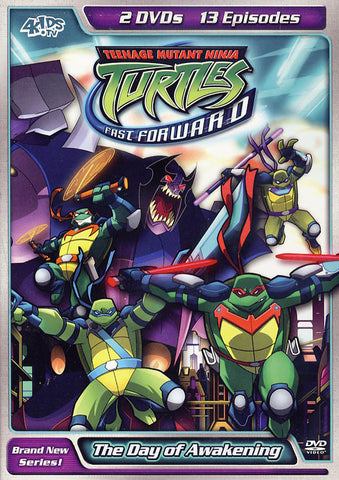 Teenage Mutant Ninja Turtles - Fast Forward - The Day of Awakening vol.2 DVD Movie