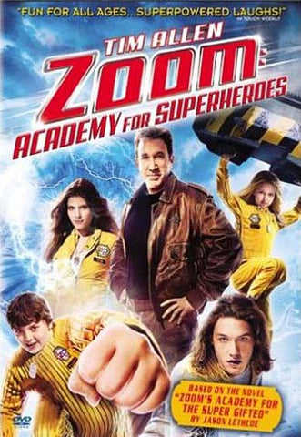 Zoom - Academy for Superheroes DVD Movie