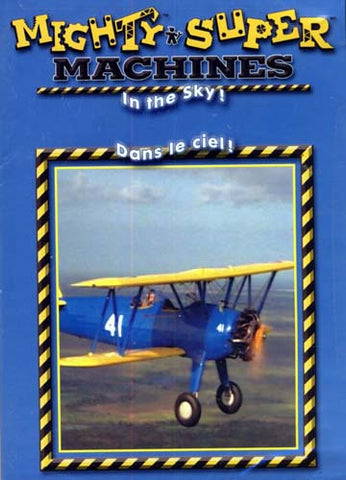 Mighty Super Machines - In The Sky (Bilingual) DVD Movie