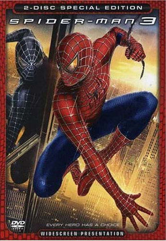 Spider-Man 3 (Two-Disc Special Edition) (Widescreen) DVD Movie