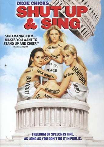 Dixie Chicks - Shut Up and Sing (Bilingual) DVD Movie