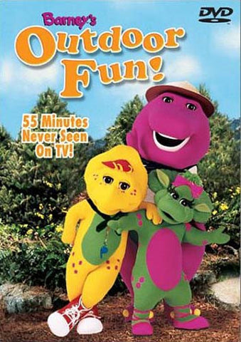 Barney's Outdoor Fun DVD Movie