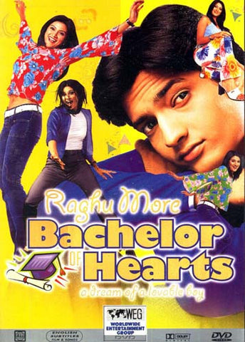 Raghu More - Bachelor of Hearts DVD Movie