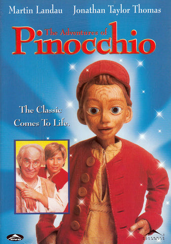 The Adventures Of Pinocchio DVD Movie