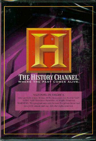Nazi Pows in America (History Channel) DVD Movie
