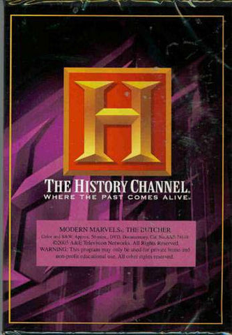 Modern Marvels - The Butcher (The History Channel) DVD Movie