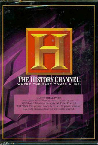 Saints Preserved! (The History Channel) DVD Movie
