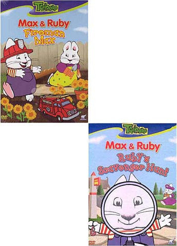 Max and Ruby - Fireman Max/Ruby's Scavenger Hunt (2 pack) DVD Movie