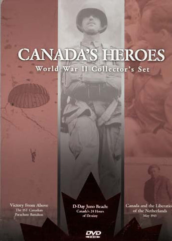 Canada's Heroes World War II (2) Collector's Set (Boxset) DVD Movie