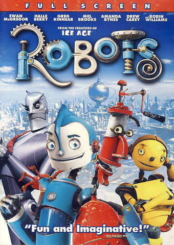 Robots (Full-Screen) DVD Movie
