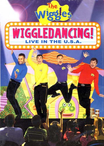 The Wiggles - Wiggledancing - Live in the USA DVD Movie