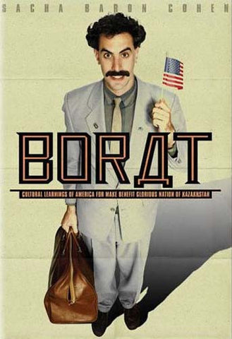 Borat - Cultural Learnings of America for Make Benefit Glorious Nation of Kazakhstan (Full Screen) DVD Movie