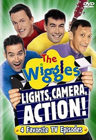 The Wiggles - Lights, Camera, Action DVD Movie