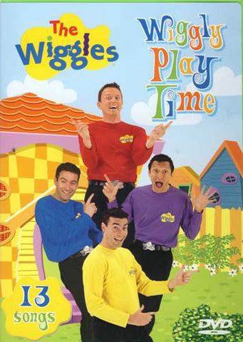 The Wiggles - Wiggly Play Time (With Bonus Songs CD) DVD Movie