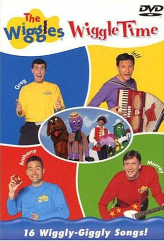 The Wiggles - Wiggle Time DVD Movie