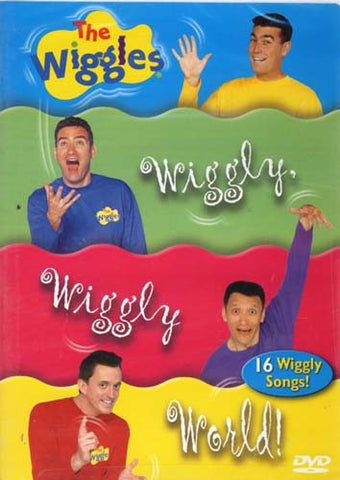 The Wiggles - Wiggly, Wiggly World! DVD Movie