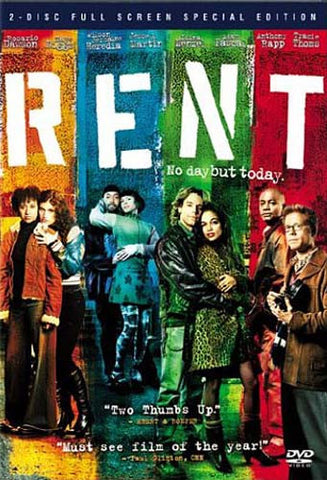 Rent (2 Disc Full Screen Special Edition) DVD Movie