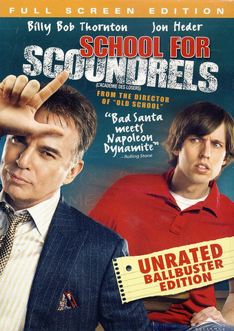 School for Scoundrels (Unrated) (Full Screen Edition) (Bilingual) DVD Movie