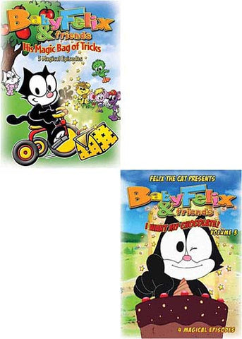 Baby Felix and Friends - Vol 1/ Vol 2/ Vol 3 (3 pack) DVD Movie