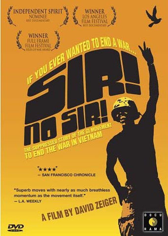 Sir! No Sir! - The Suppressed Story of the GI Movement to End the War in Vietnam DVD Movie