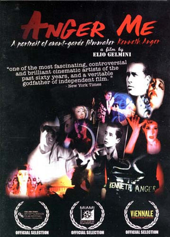 Anger Me - a Portrait of Avant-Garde Filmmaker Kenneth Anger DVD Movie