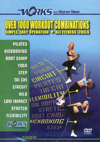 The Works With Sharon Mann - Cardio DVD Movie