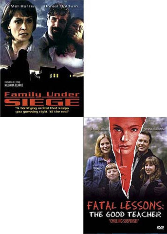 Family Under Siege/Fatal Lessons - The Good Teacher (2 Pack) DVD Movie