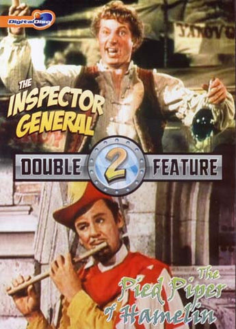 The Inspector General / Pied Piper of Hamelin (Double Feature) DVD Movie