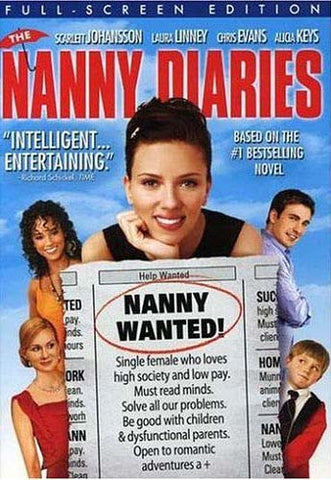 The Nanny Diaries (Full Screen Edition)(bilingual) DVD Movie
