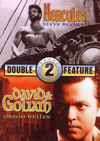 Hercules / David and Goliath (Double Feature) DVD Movie