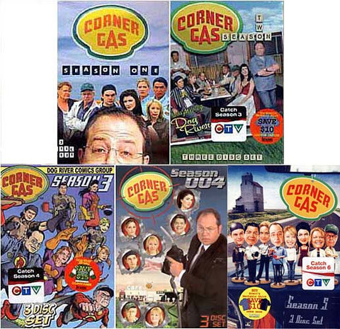 Corner Gas - Season 1, 2, 3, 4 and 5 (5 pack) DVD Movie