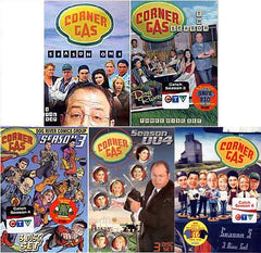 Corner Gas - Season 1, 2, 3, 4 and 5 (5 pack)